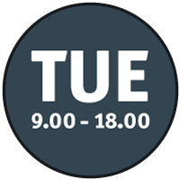 Tuesday-Opening
